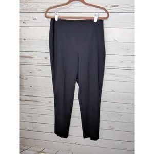 Talbot's | Hollywood Black Tapered Pleat Trousers